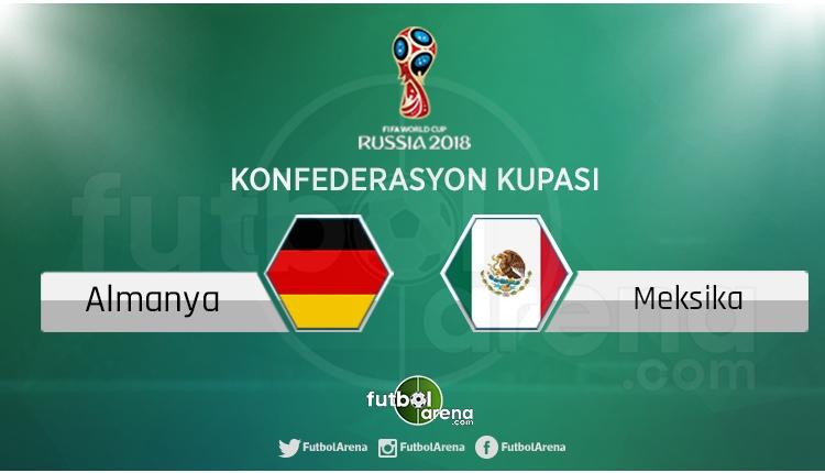 Almanya - Meksika maçı saat kaçta, hangi kanalda?