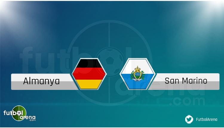 Almanya - San Marino maçı saat kaçta, hangi kanalda? Şifresiz izle