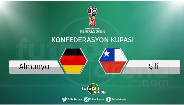 Almanya - Şili maçı saat kaçta, hangi kanalda?