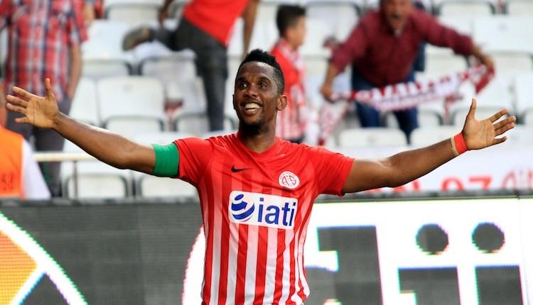 Antalyaspor'da Eto'nun Süper Lig'de gol atamadığı 3 takım