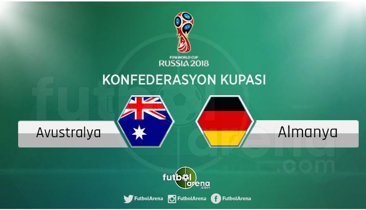 Avustralya - Almanya maçı saat kaçta, hangi kanalda?