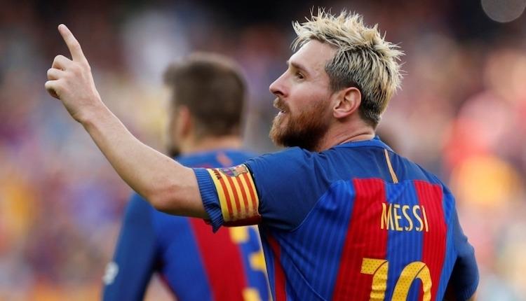 Barcelona'da Lionel Messi'e 250 bin Euro ceza
