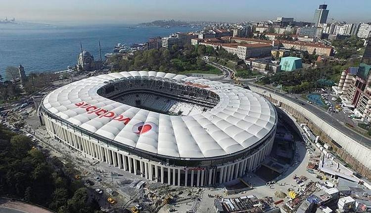 Beşiktaş'ın stadının yeni adı Vodafone Park