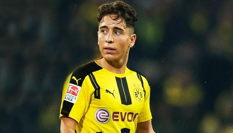 Borussia Dortmund'da Emre Mor Avrupa'da zirvede