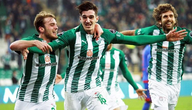 Bursaspor, genç yıldızla sözleşme imzaladı