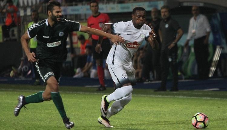 Çaykur Rizespor'da transferde Oboabona serbest kaldı
