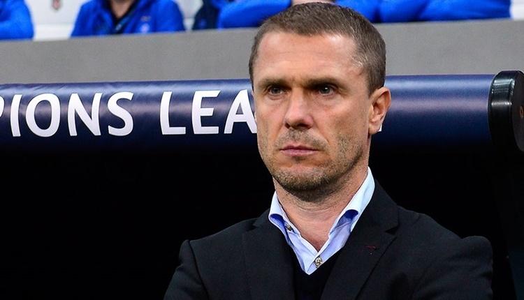 Dinamo Kiev'de Sergiy Rebrov dönemi bitti