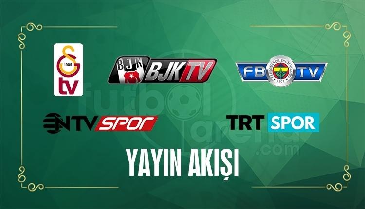 FB TV, BJK TV, GS TV, TRT Spor, NTV Spor Yayın Akışı - 20 Haziran Salı 2017 (CANLI)