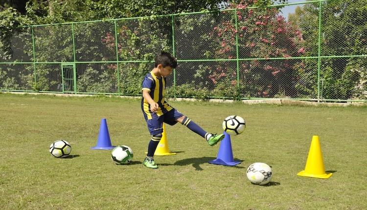 Fenerbahçe'de 9 yaşındaki Orçun Enes Tok dikkatleri üzerine çekiyor