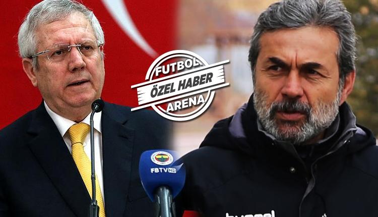 Fenerbahçe'de Aziz Yıldırım, Aykut Kocaman'ı açıklayacak mı?