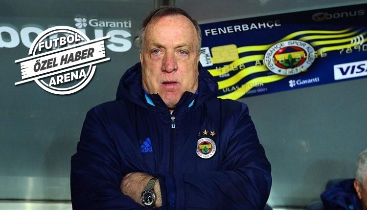 Fenerbahçe'de Dick Advocaat'tan veda sözleri