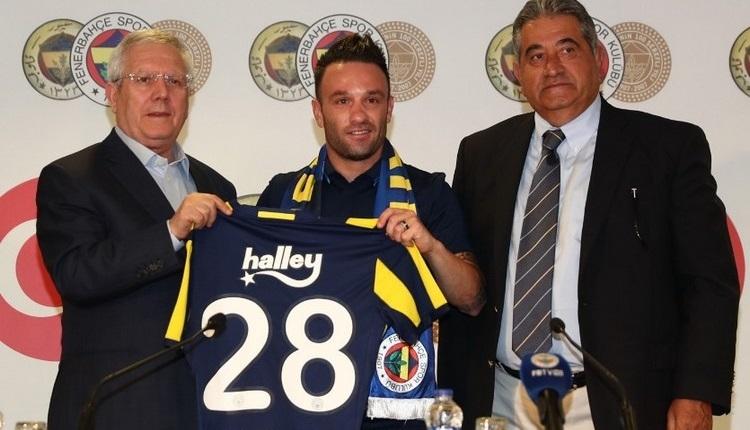 Fenerbahçe'de Mathieu Valbuena imzaladı