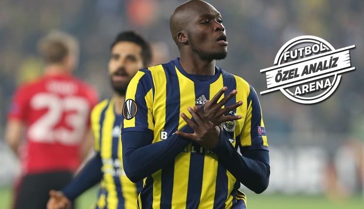 Fenerbahçe'de Moussa Sow'dan dikkat çekici istatistik