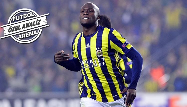 Fenerbahçe'de Moussa Sow'un şaşırtan istatistiği...