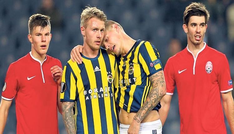 Fenerbahçe'de Simon Kjaer ve Martin Skrtel korkusu