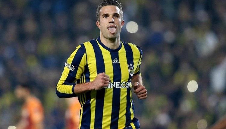 Fenerbahçe'de Van Persie için Hollanda iddiası