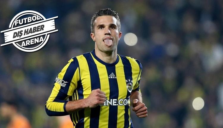 Fenerbahçe'de Van Persie transferine: