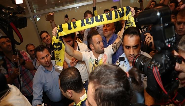 Fenerbahçe'nin yeni transferi Mathieu Valbuena'dan veda