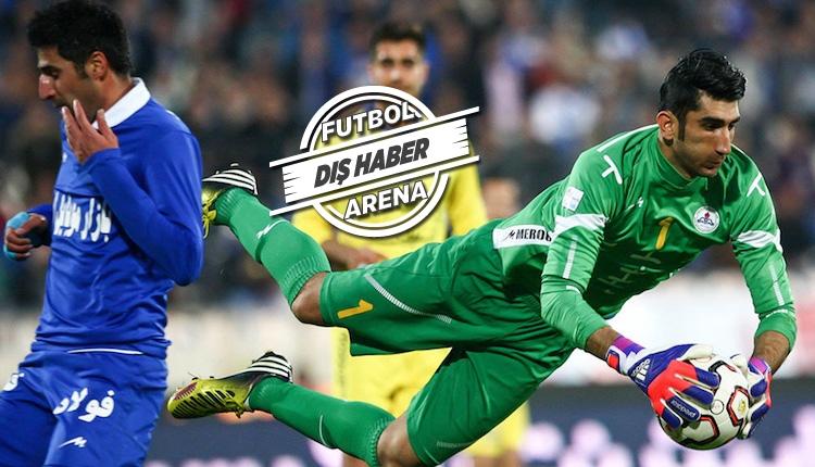 Fenerbahçe'ye İranlı kaleci Alireza Beiranvand