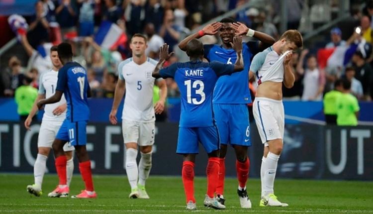 Fransa 3-2 İngiltere maçı özeti ve golleri (İZLE)