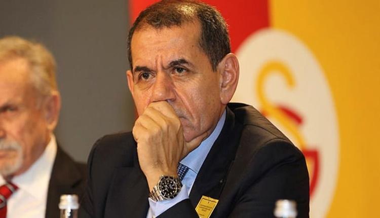 Galatasaray Başkanı Dursun Özbek salon için Ankara'da