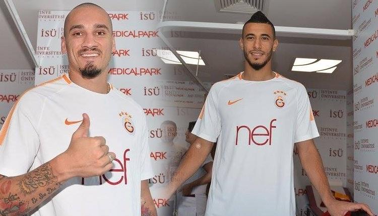 Galatasaray'da Belhanda ve Maicon kontrolden geçti