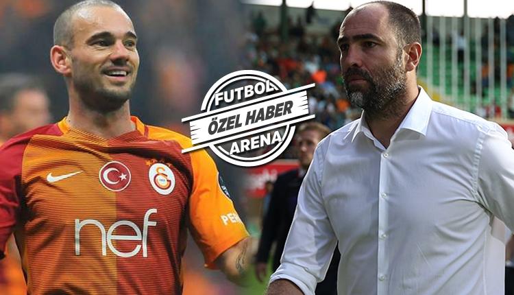 Galatasaray'da Igor Tudor'un Sneijder kararı
