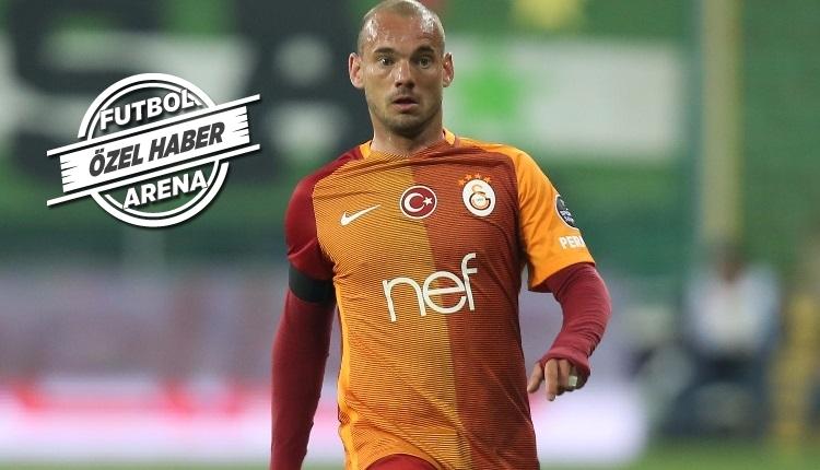 Galatasaray'da kritik Sneijder bekleyişi