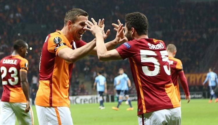 Galatasaray'da Podolski'den Sabri mesajı: