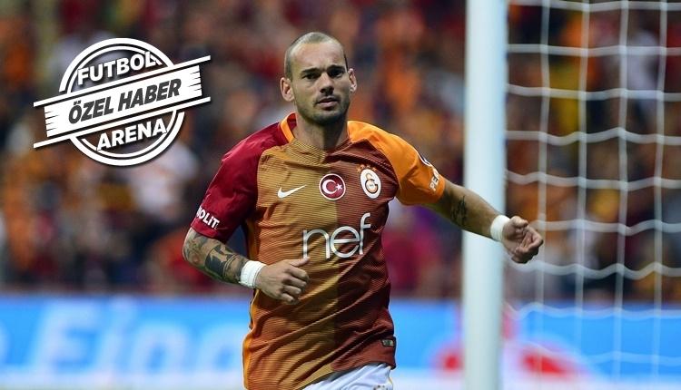 Galatasaray'da Sneijder gidiyor mu? Gerçek ortaya çıktı