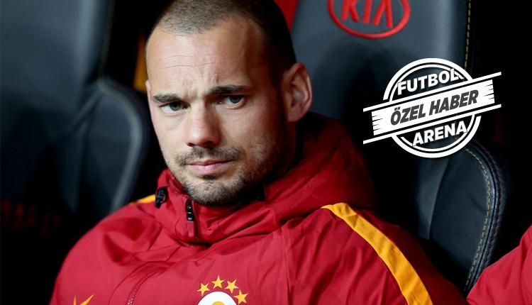 Galatasaray'da Sneijder'den şok transfer kararı!