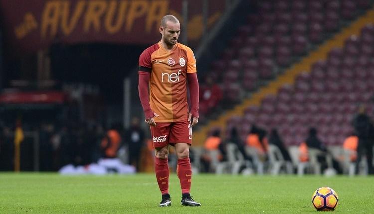 Galatasaray'da transferde Wesley Sneijder ile ilgili karar
