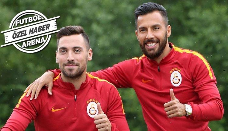 Galatasaray'dan Sinan Gümüş ve Yasin Öztekin kararı