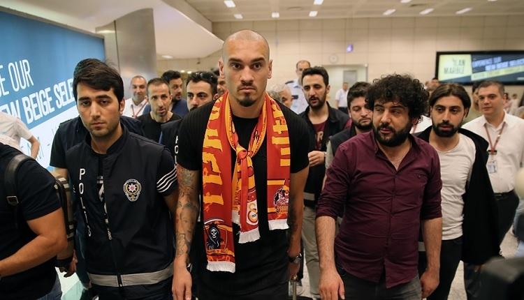 Galatasaray'ın yeni transferi Maicon İstanbul'da! İşte maliyeti