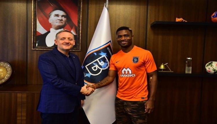 Galatasaraylı Chedjou, Başakşehir'e transfer oldu