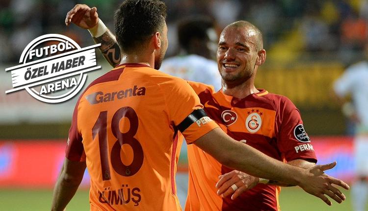 Galatasaraylı Sneijder, ABD'ye mi transfer olacak?