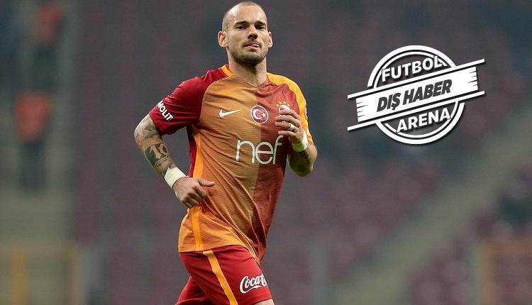 Galatasaraylı Sneijder için Valencia ve Sevilla iddiası