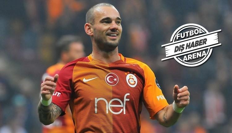 Galatasaraylı Sneijder'in transferini resmen açıkladılar