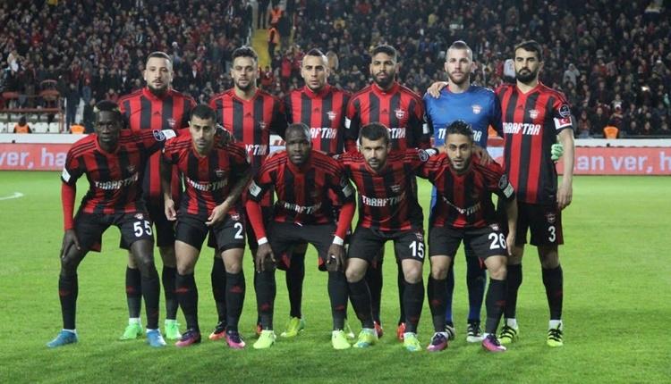 Gaziantepspor'da sezonun enleri