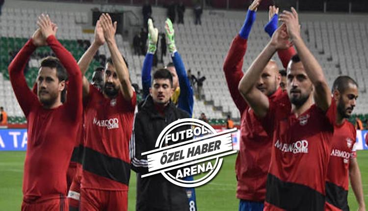 Gaziantepspor'da, yeni sezonda takımda kalacak altı isim