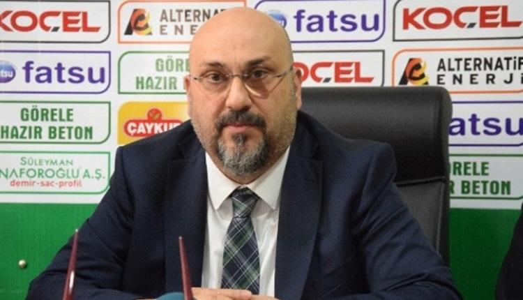 Giresunspor'un teknik direktör adayları
