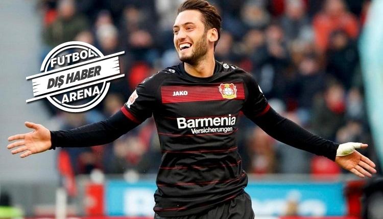 Hakan Çalhanoğlu için Lazio iddiası