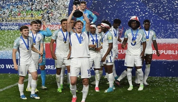 İngiltere U20 Dünya şampiyonu oldu