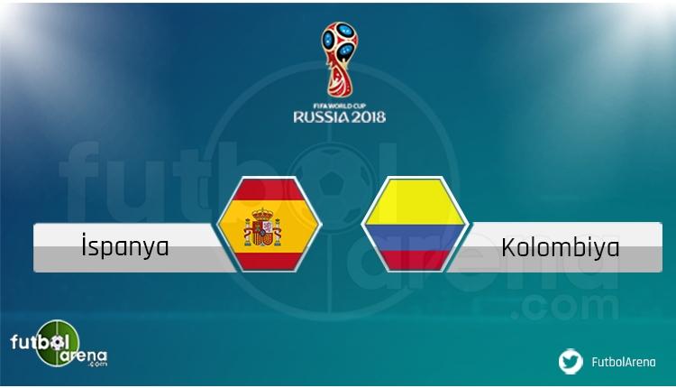 İspanya - Kolombiya maçı saat kaçta, hangi kanalda? Şifresiz izle