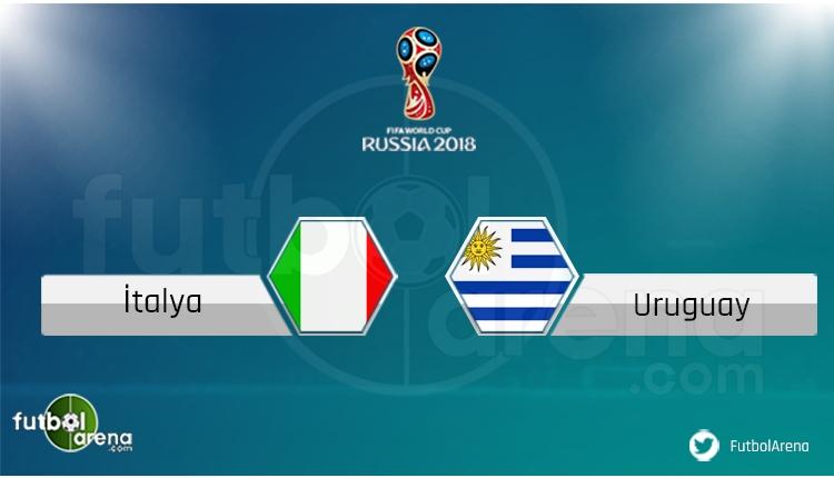 İtalya - Uruguay maçı saat kaçta, hangi kanalda? Şifresiz izle