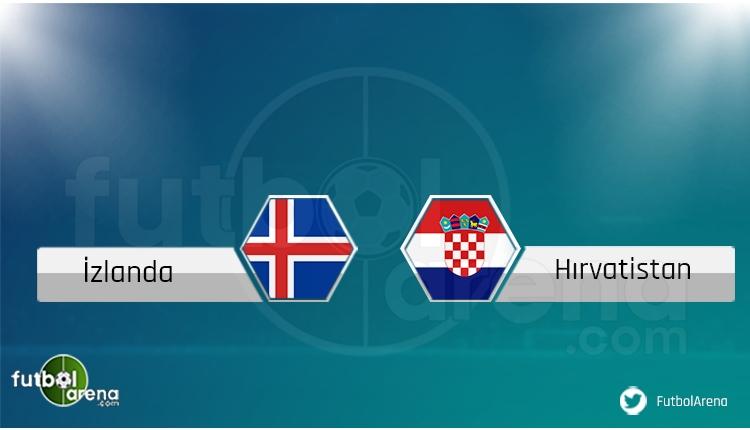 İzlanda - Hırvatistan maçı saat kaçta, hangi kanalda?