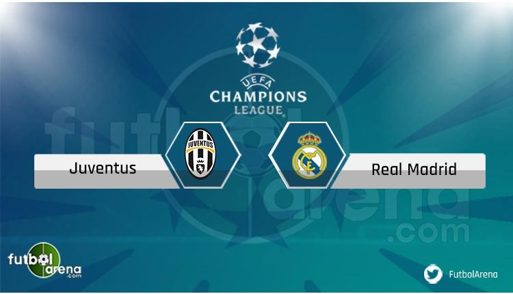 Juventus Real Madrid maçı saat kaçta, hangi kanalda? (Canlı İzle)