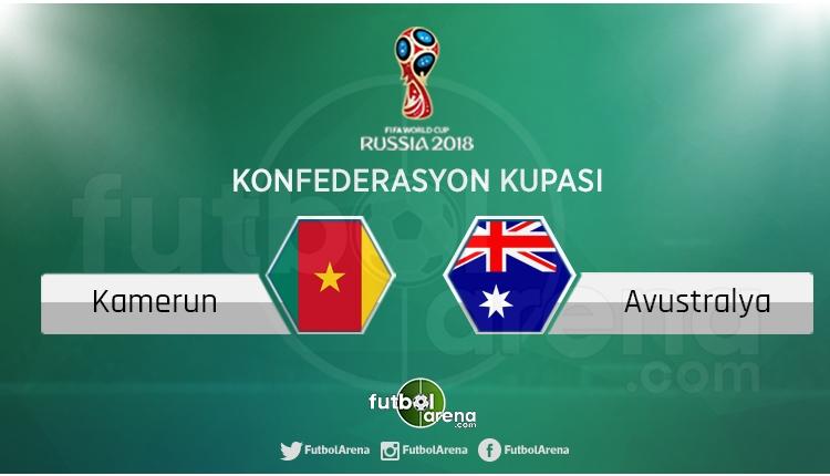Kamerun - Avustralya maçı saat kaçta, hangi kanalda?