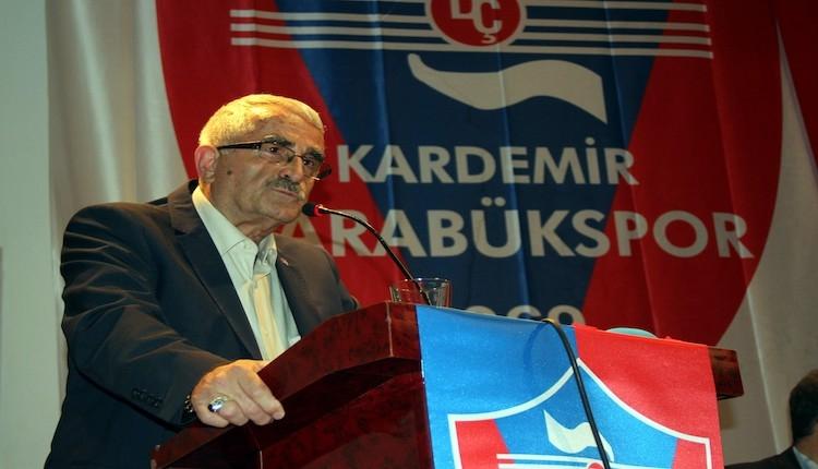 Karabükspor Başkanı Ferudun Tankut: ''Şehir Süper Lig'in kıymetini bilmiyor''