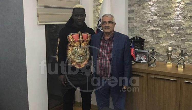 Karabükspor'dan Hamidou Traore transferi